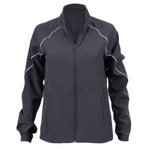 New Soffe Women's Woven Game Time Warm Up Jacket